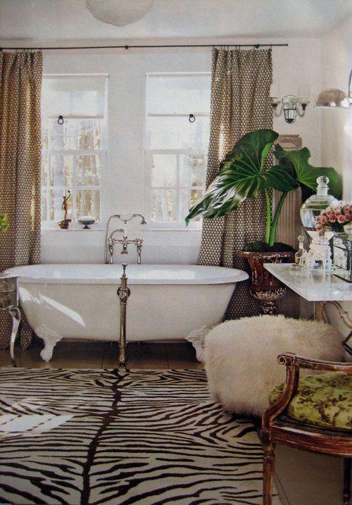 20 Zebra Interior Decorating Ideas