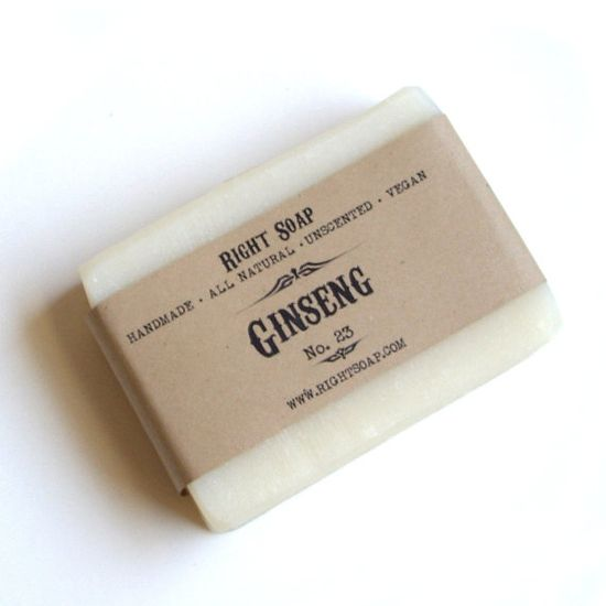 Handmade Ginseng Soap. Sounds so refreshing, I have to try this!