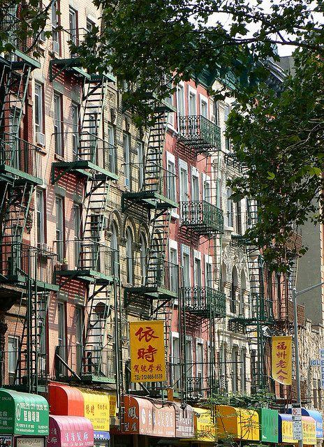 NYC. Manhattan. Chinatown