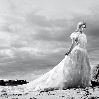 #Gown: Barney Cheng exclusively for the Crystallized Wedding Initiative. Photo: Warwick Saint.  #Fashion #New #Nice #Beauty #WeddingDress  www.2dayslook.com