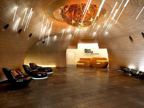Unconventional Office Space Design futuristic office designs