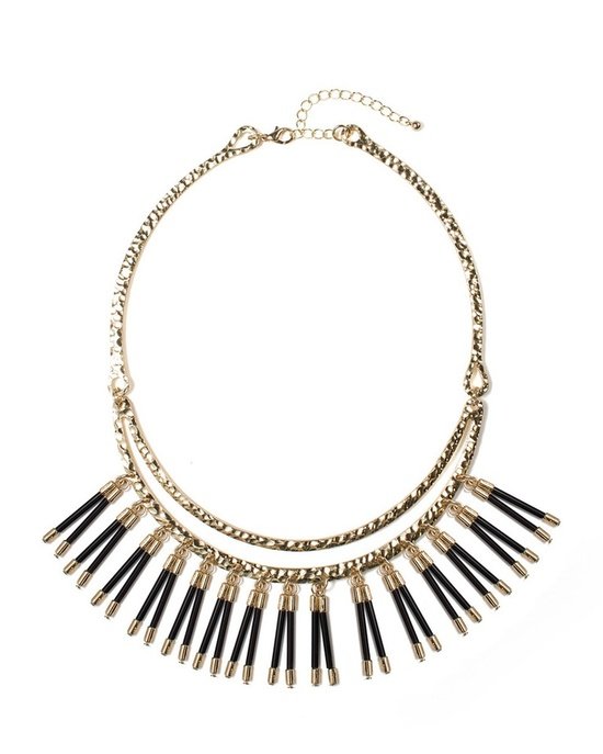 spikey necklace