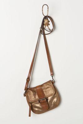 bronze + leather