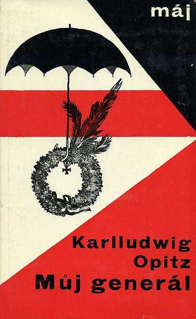 1964 Adolf Hoffmeister, cover for Karlludwig Opitz,  M?j generál by 50 Watts, via Flickr