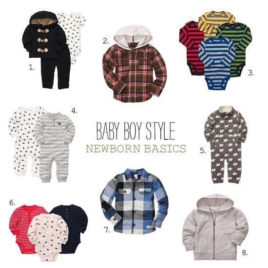 Baby Boy Style: Newborn Basics