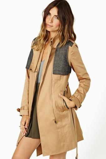 Dillon Trench Coat by #ArynK