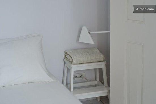 White Bed Room Details