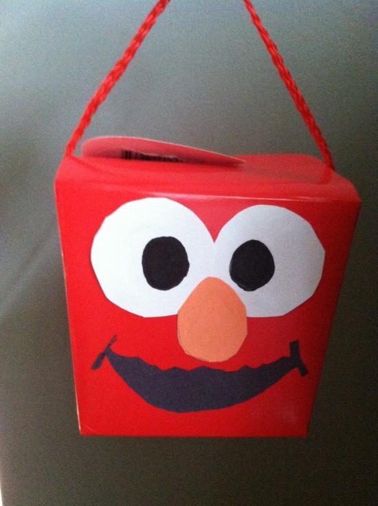 Elmo #treat/goody ba