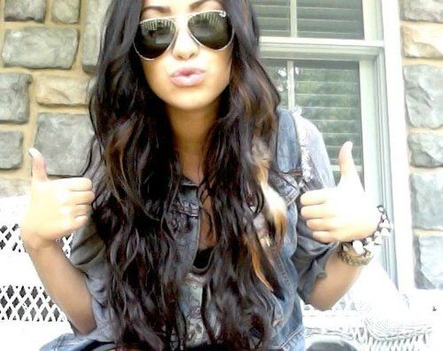 my hair needs to be this long like...now!