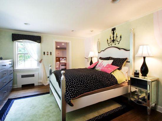 Chic Teen Girl's Room