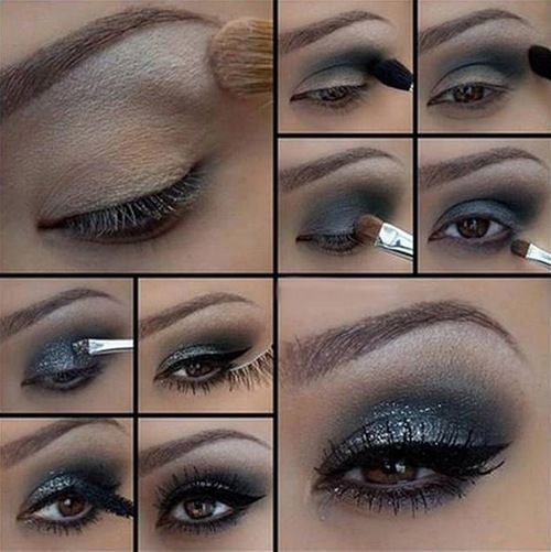 DIY Eyeshadow diy diy ideas easy diy diy fashion diy makeup diy eye shadow diy tutorial diy picture tutorial