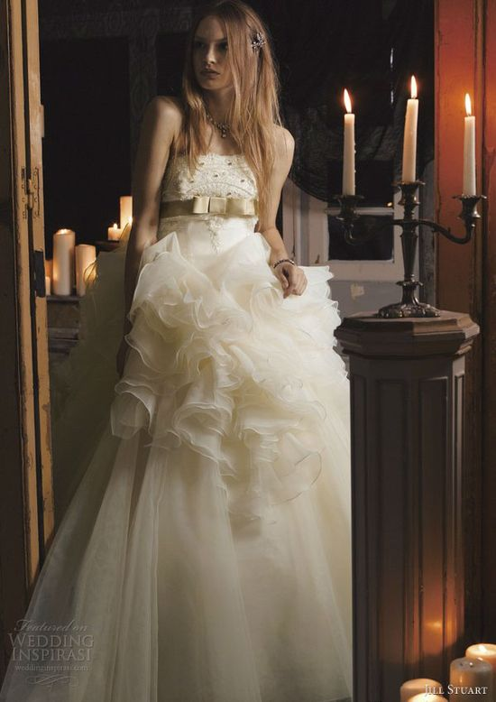 jill stuart wedding dress 2013