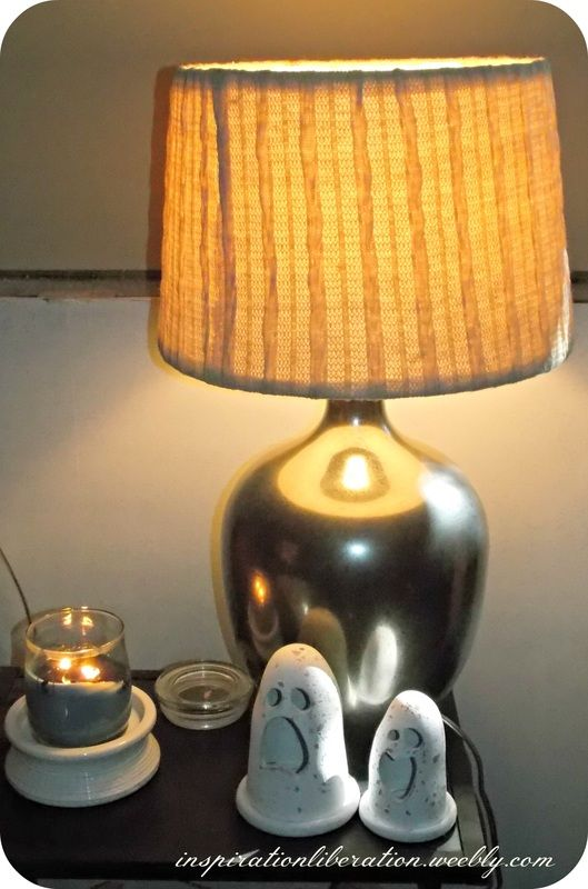Do It Yourself Mercury Glass Lamp