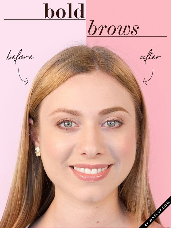 how to get the bold brow look