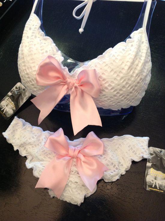 Bonny Bikini Satin Bows Bikini