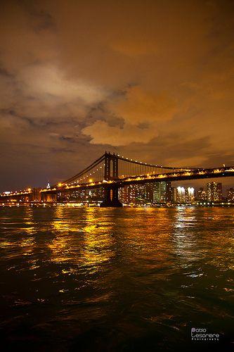 Manhattan Bridge ~ New York City, New York