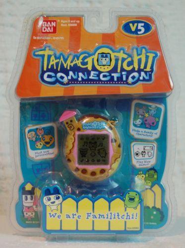 Bandai Tamagotchi V5 Chocolate Chip Cookie NIP Electronic Toy Brand New
