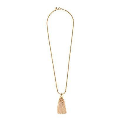 Golden tassel necklace - necklaces - Women's jewelry - J.Crew