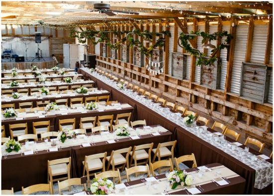 Stunning Rustic Wedding Reception