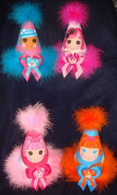 Lalaloopsy Birthday Party Hat  Choose 1 by Asil328 on Etsy, $17.99