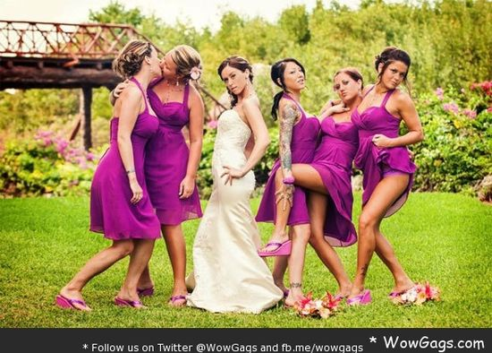 WowGags! 14 WTF Wedding Photos