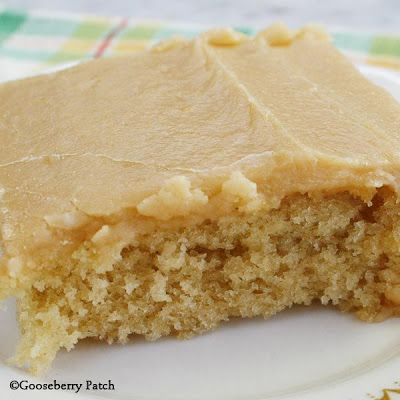 This Peanut Butter Texas Sheet Cake feeds a crowd and you'll love the frosting - it tastes just like peanut butter fudge!