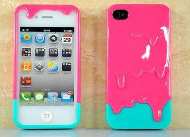 cute i phone melting case!
