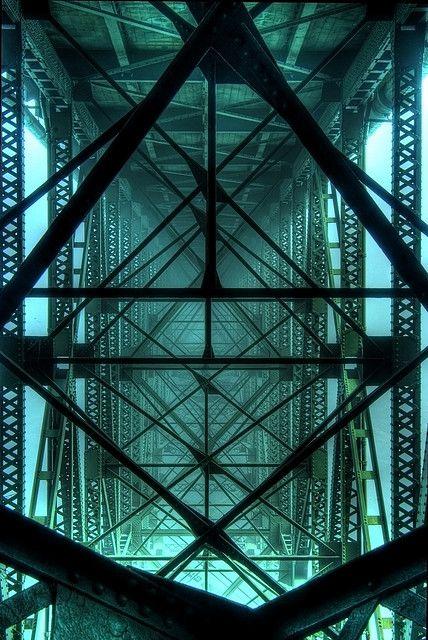Below the Deception Pass bridge in Washington
