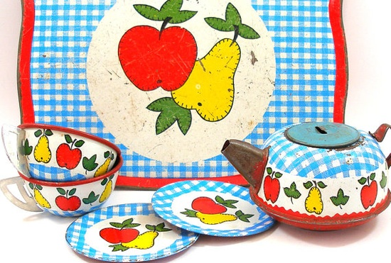 Fruit tea set