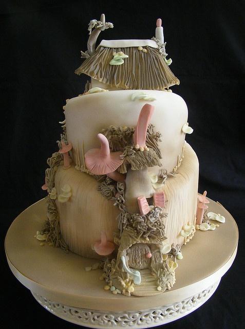 Pixie / Fairy House Cake
