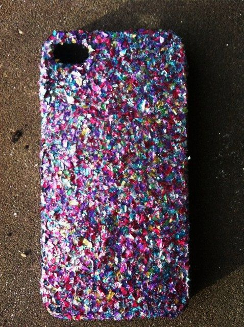 Mixed Glitter iPhone 4 4s Hard Cover Case