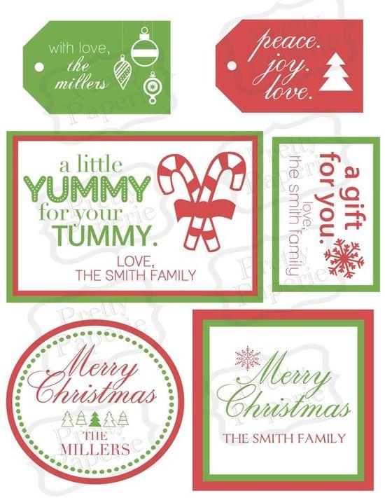 gift tag printables option
