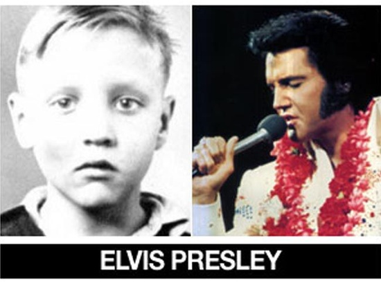 Beautiful World : Celebrities Then and Now