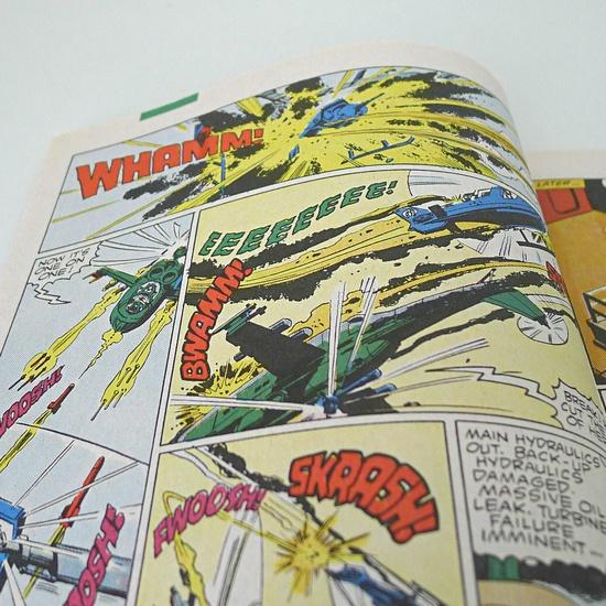 Vintage GI Joe Marvel Comics, 1980s.