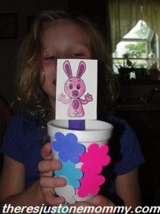 preschooler bunny craft  from There's Just One Mommy