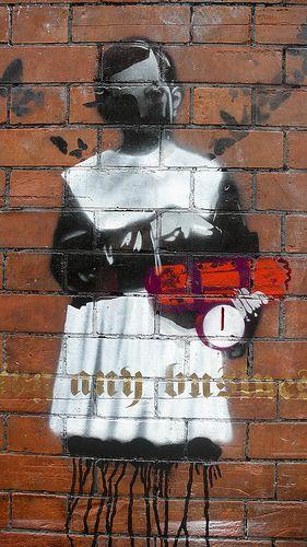 DUBLIN STREET ART - BY CANVAZ