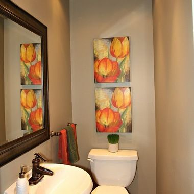 "Powder Room Design Ideas, Pictures, Remodels and Decor ""layout"""