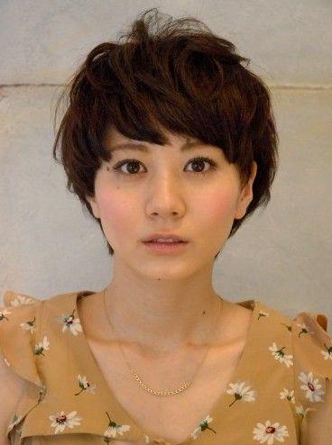 Boyish Japanese Short haircut