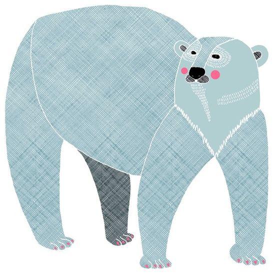 Polar Bear print by Alice Potter @Etsy!