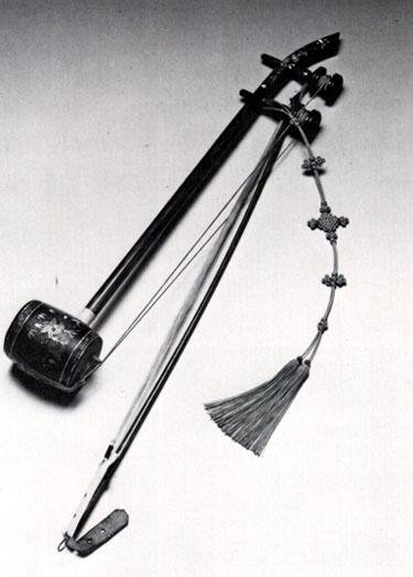 Haegeum; Traditional Korean string instrument