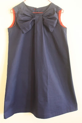 Big Bow dress tutorial