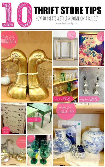 10 Thrift Store Shopping Tips!