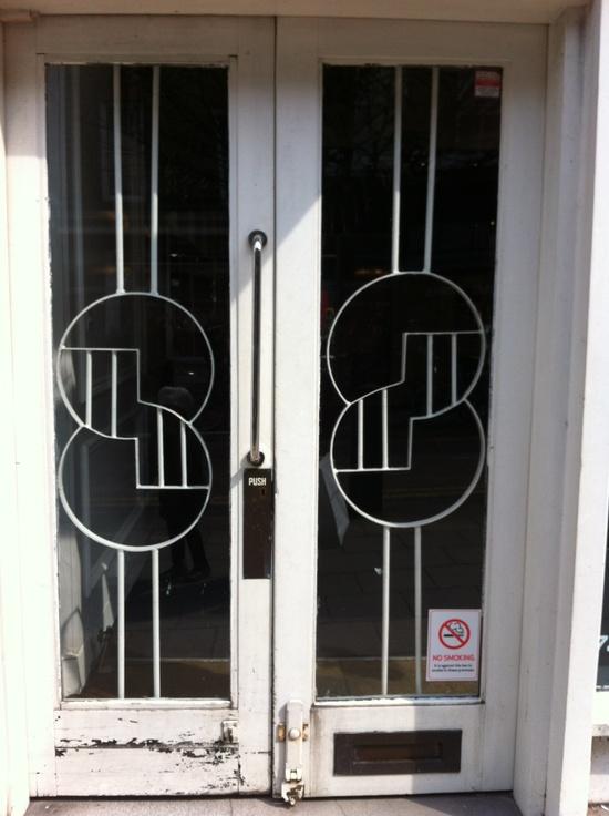 Art Deco doors, London