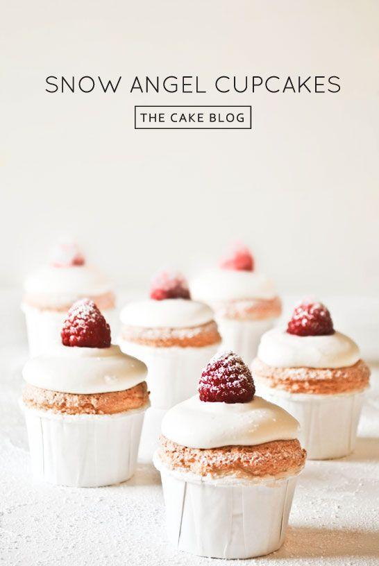 Snow Angel Cupcakes