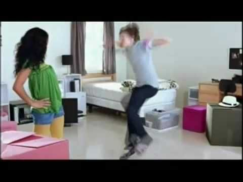 ? Target Commercial Ad Calabria Dorm Dance - YouTube