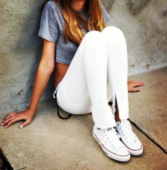#fashion #summer #clothes #converse