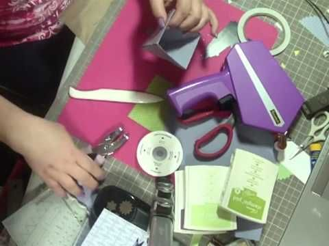 Stampin' Up Petal Cone die project video