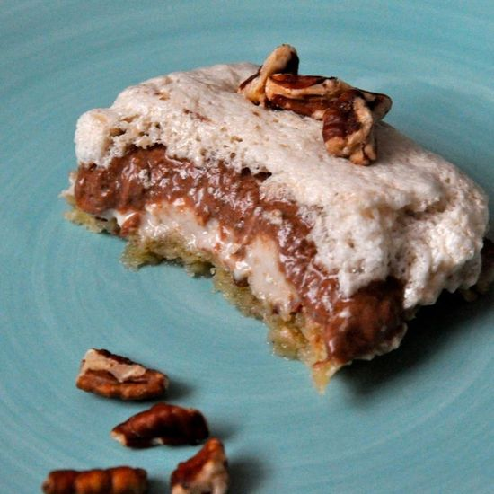 ? Four Layer Delight Healthy Dessert!