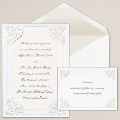 Dynasty Corners Wedding Invitations