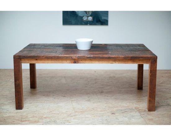 Beautiful Modern Dining Table/ Reclaimed Wood by BlakeAvenue, $1495.00
